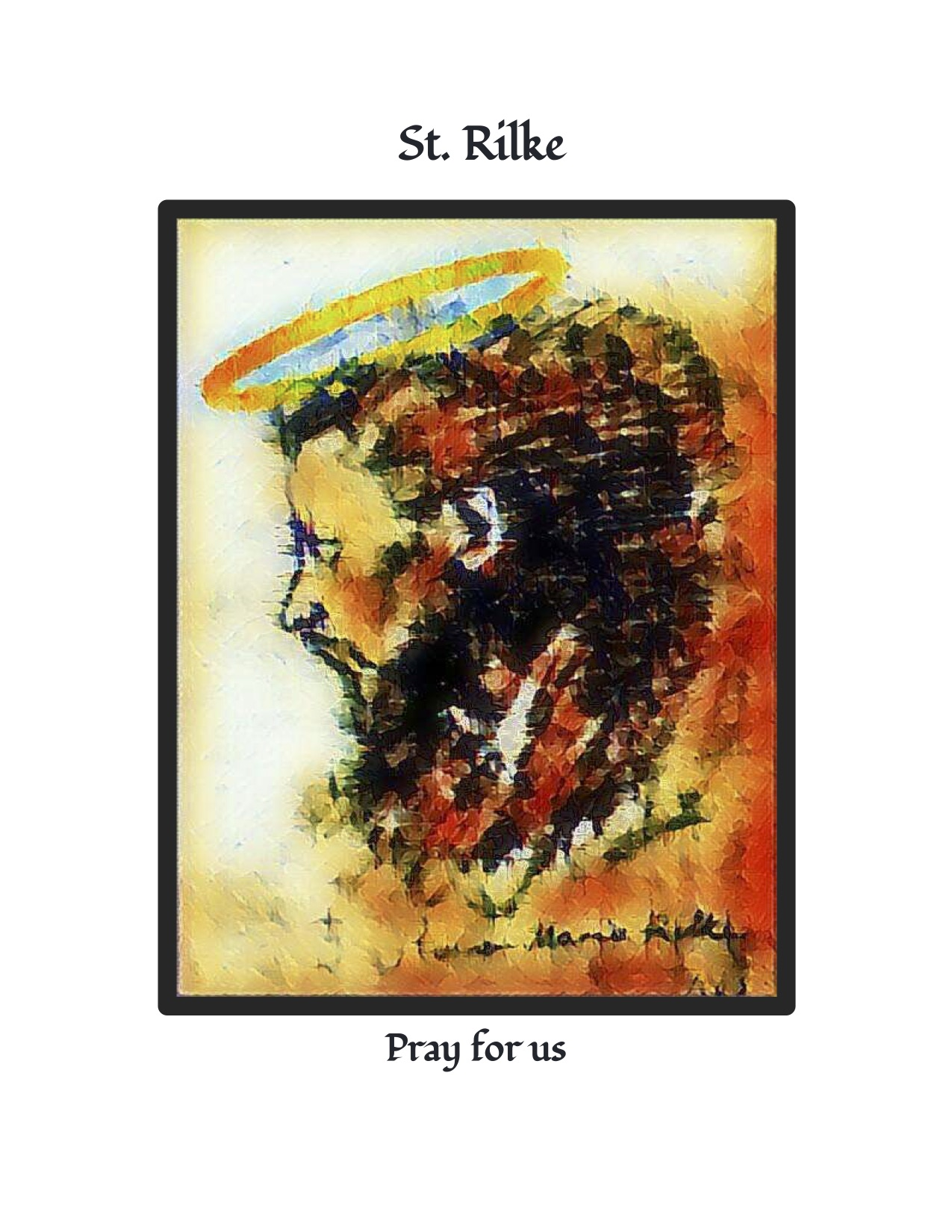 St. Rilke Pray for us Cover
